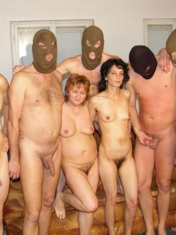 Kinky mature gangbang tgp