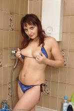 allover30women galleries6 544-Allover30-Joanna-Hairy-Pits-Pussy-Shower ph