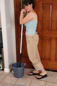 allover30women galleries 046-Allover30-Young-Busty-Housewife-Mops-The-Floor ph