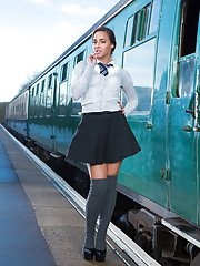 sexgirlfriend pics sexy-euro-schoolgirl-amirah-adara-gets-naked-outside-in-public-place