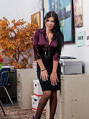 bustypics pics office-drives-latina-babe-with-big-boobs-rebeca-linares-really-horny