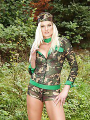sexygirlspics pics 2013-07-10 seductive-blonde-in-military-outfit-getting-naked-and-exposing-her-pussy