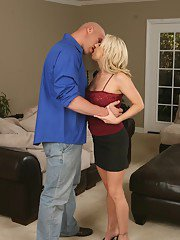 exclusivemilf pics carolyn-reese-gets-mouth-fucked-and-jizzed-over-her-rack-after-hard-twatting