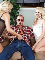 lamalinks pictures frolic-blonde-lassies-sharing-a-stiff-prick-and-a-gooey-cumshot