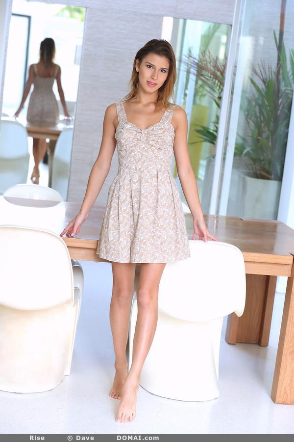 gyrls rise-takes-off-her-dress