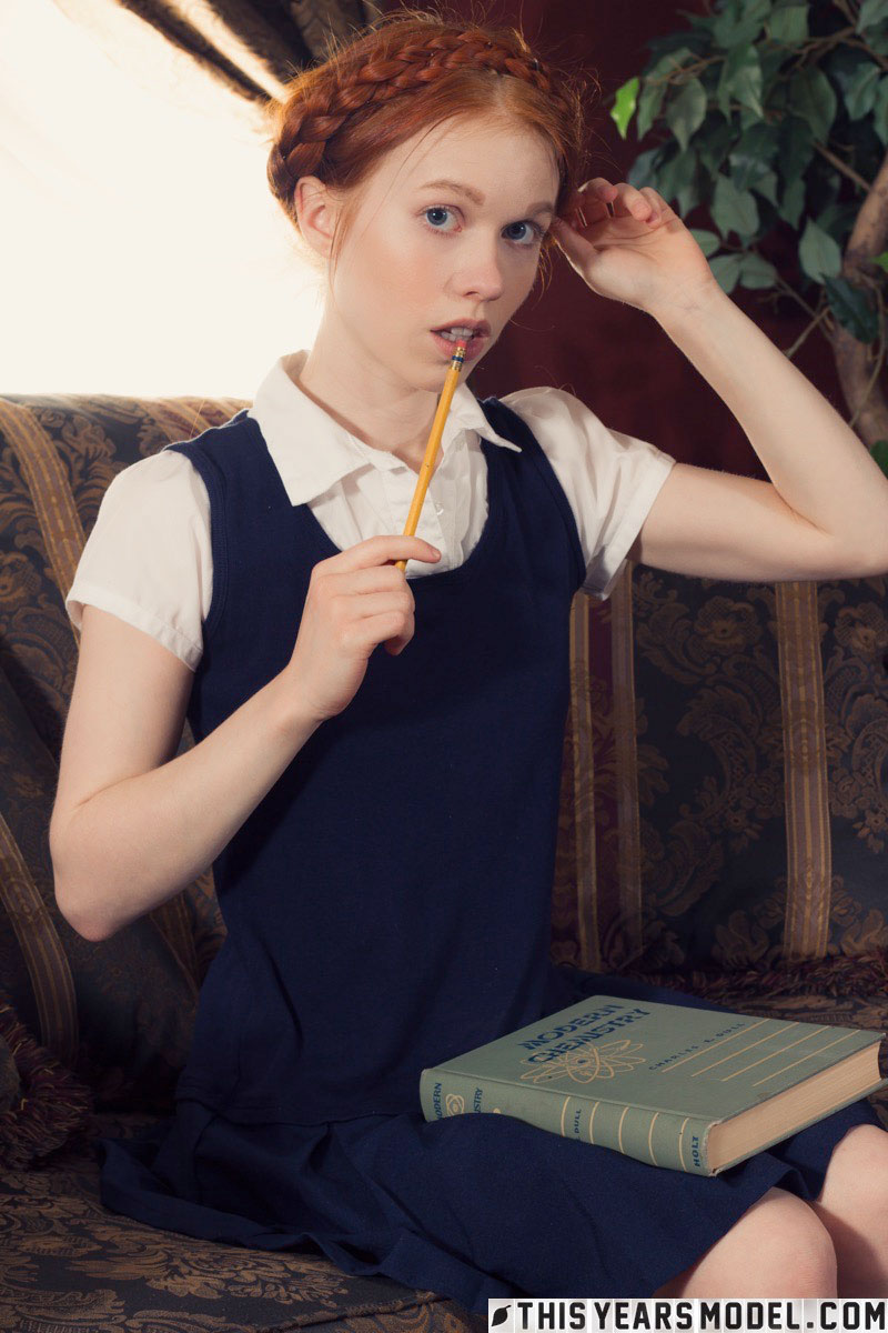 gyrls dolly-little-takes-off-her-uniform