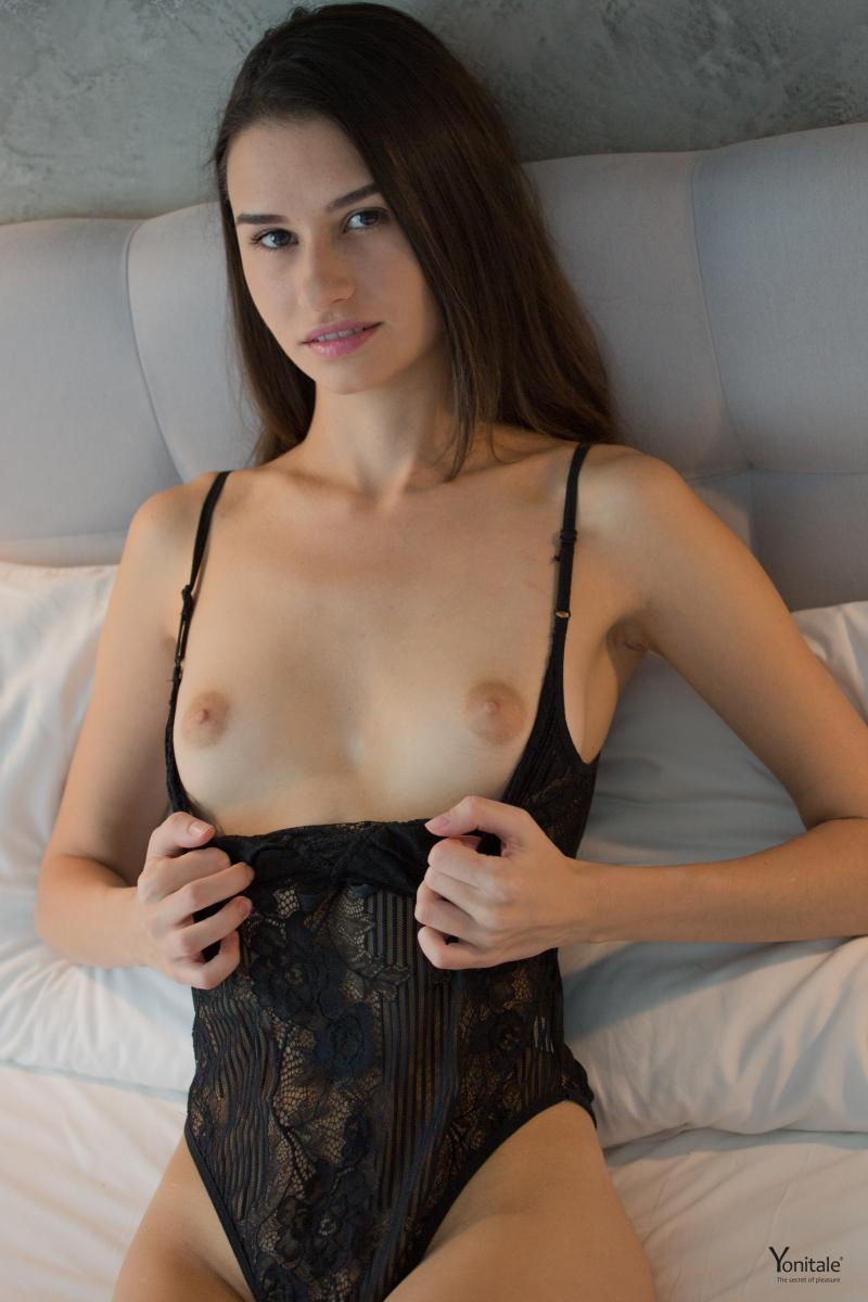 gyrls christine-y-black-bodysuit