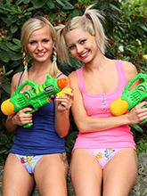 babesfarm pinkyjune hard pistols
