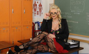 pornpics galleries ravishing-teacher-phoenix-marie-uncovering-her-gorgeous-curves