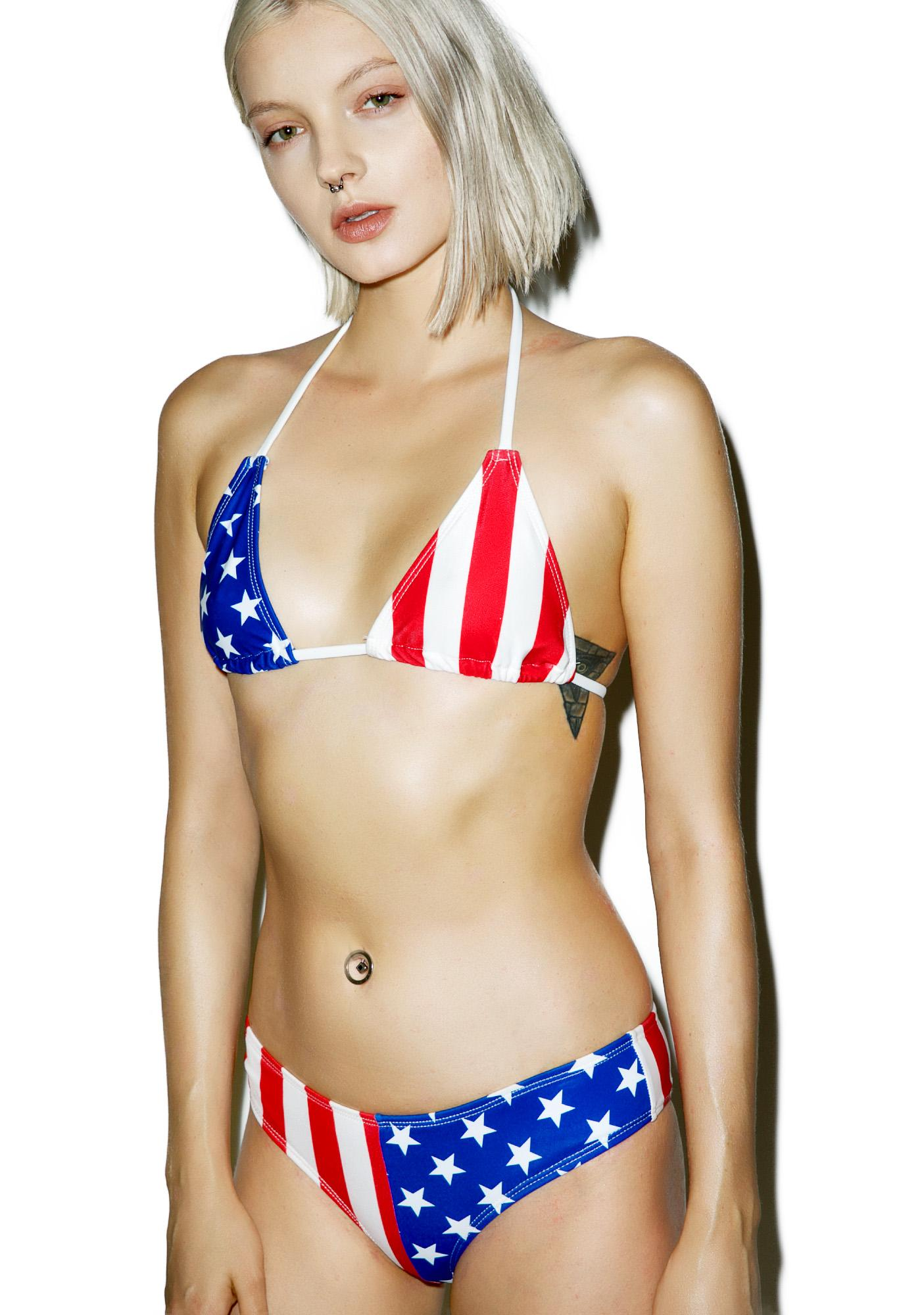 dollskill red-white-and-rude-bikini-set
