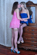 galleries ferronetwork fhg licknylons pictures 5256_1 gina-gerson-emily-b-nylon-lesbian-bitches