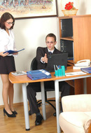 galleries ferronetwork fhg secretarypantyhose pictures 130_1 ambrose-john-awesome-office-pantyhosers