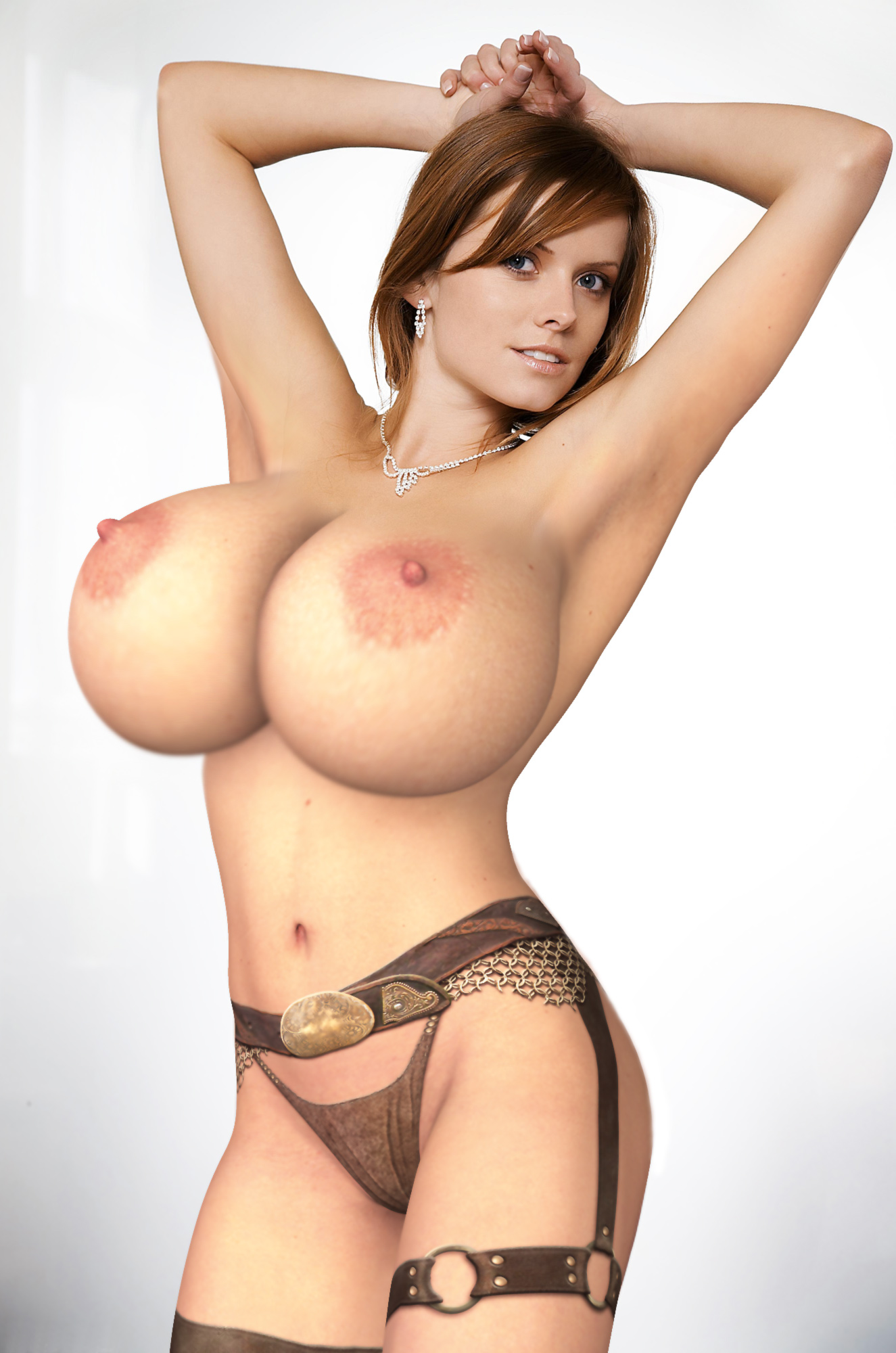 Naked 3d big boobs woman picture naked toons