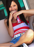 http://galleries5.ptclassic.com/3/catie-minx-stripes-and-jean-shorts/