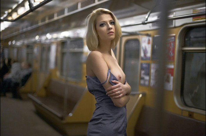 russiasexygirls 119794 skinny russian blonde is undressing at subway