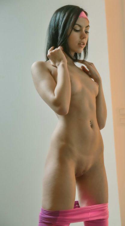 Фото худые голые девки
