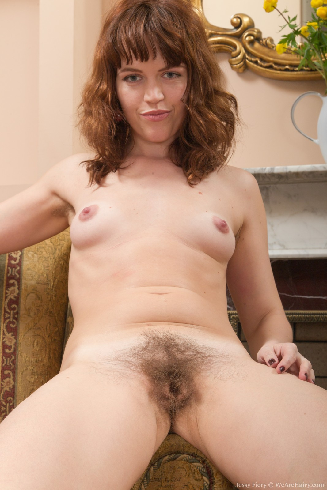 Tell Natural redhead hairy standing in the nude consider, that