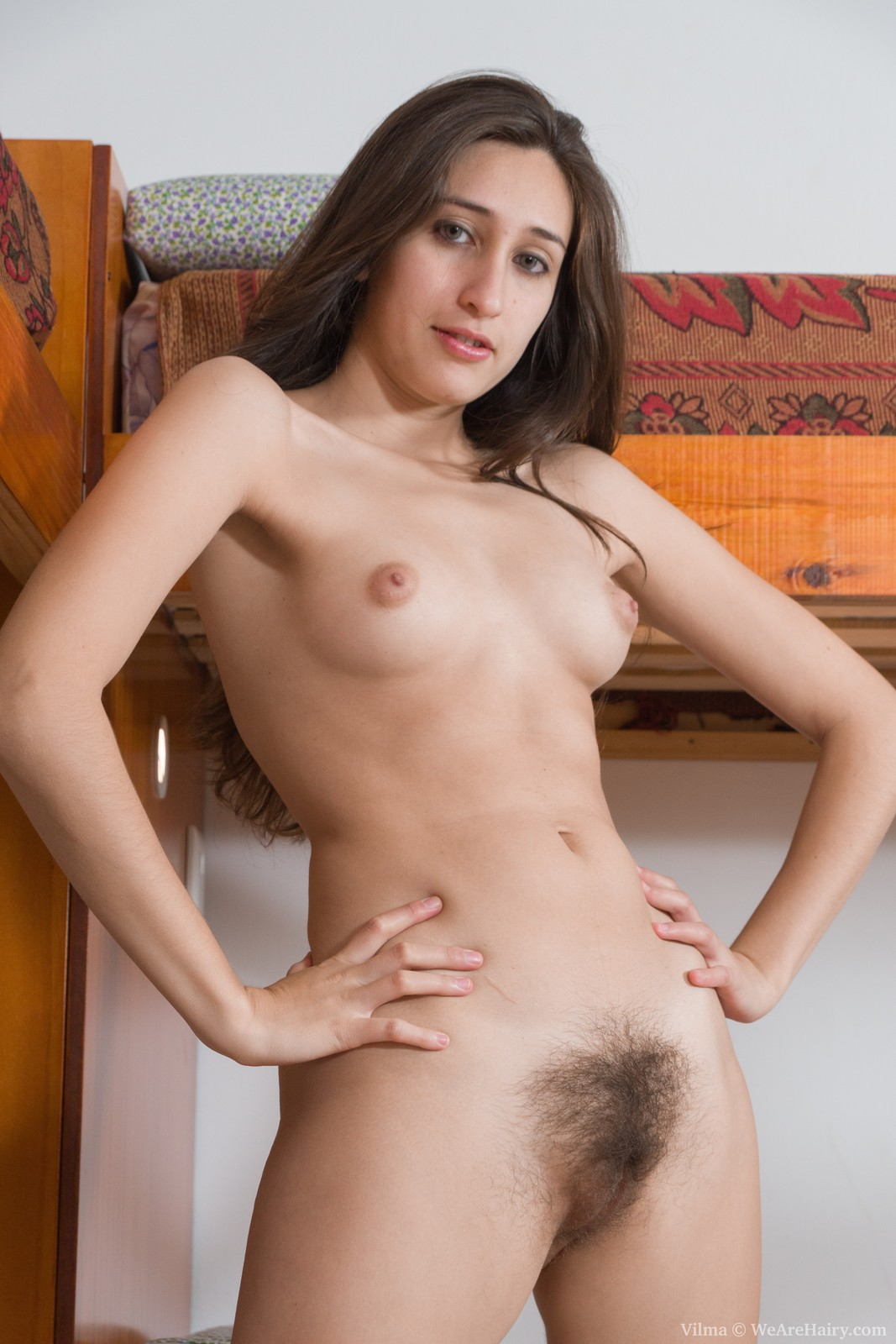 natural hairy paige