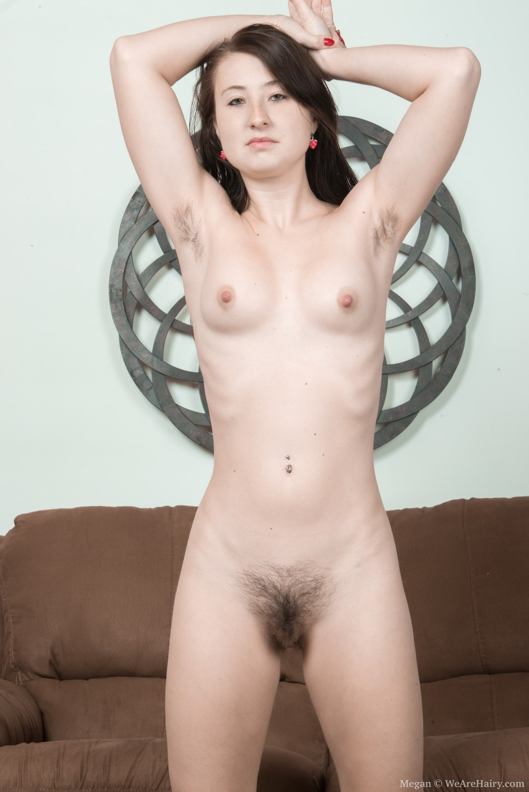 thehairylady blog megan-seductively-undressing