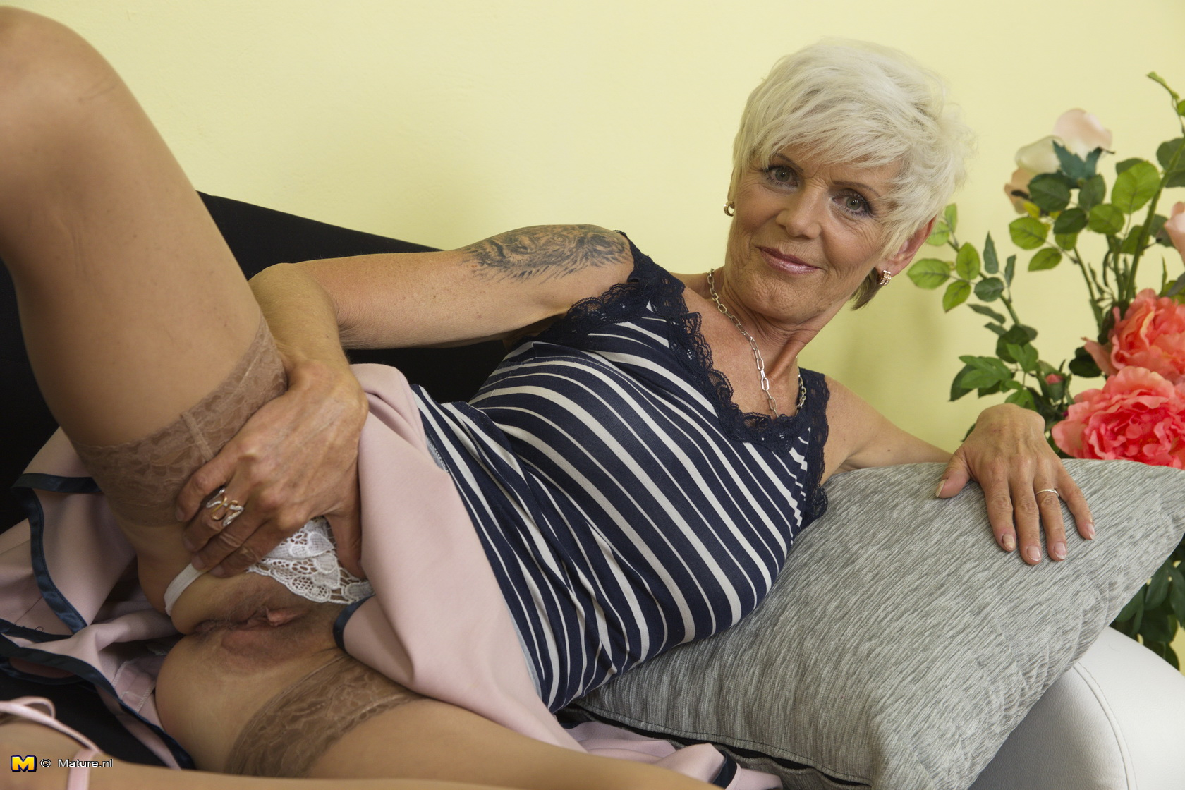 Horny mature asian granny