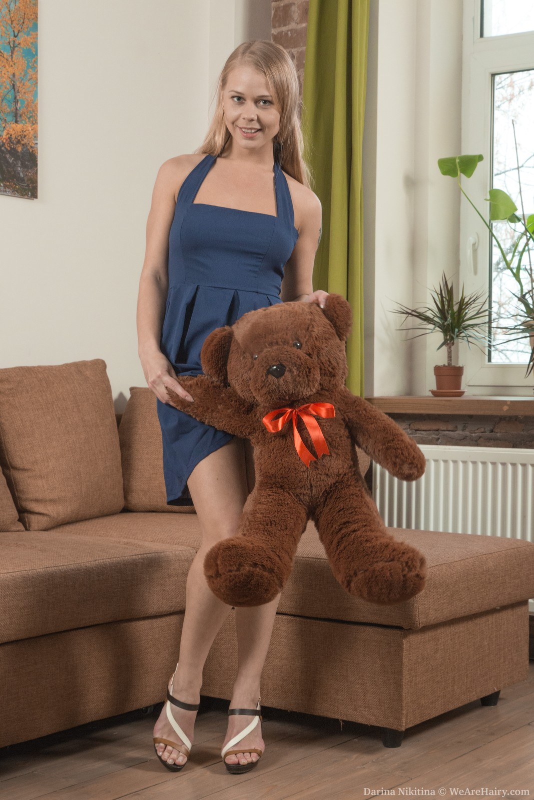 thehairylady blog russian-blonde-girl-darina-nikitina