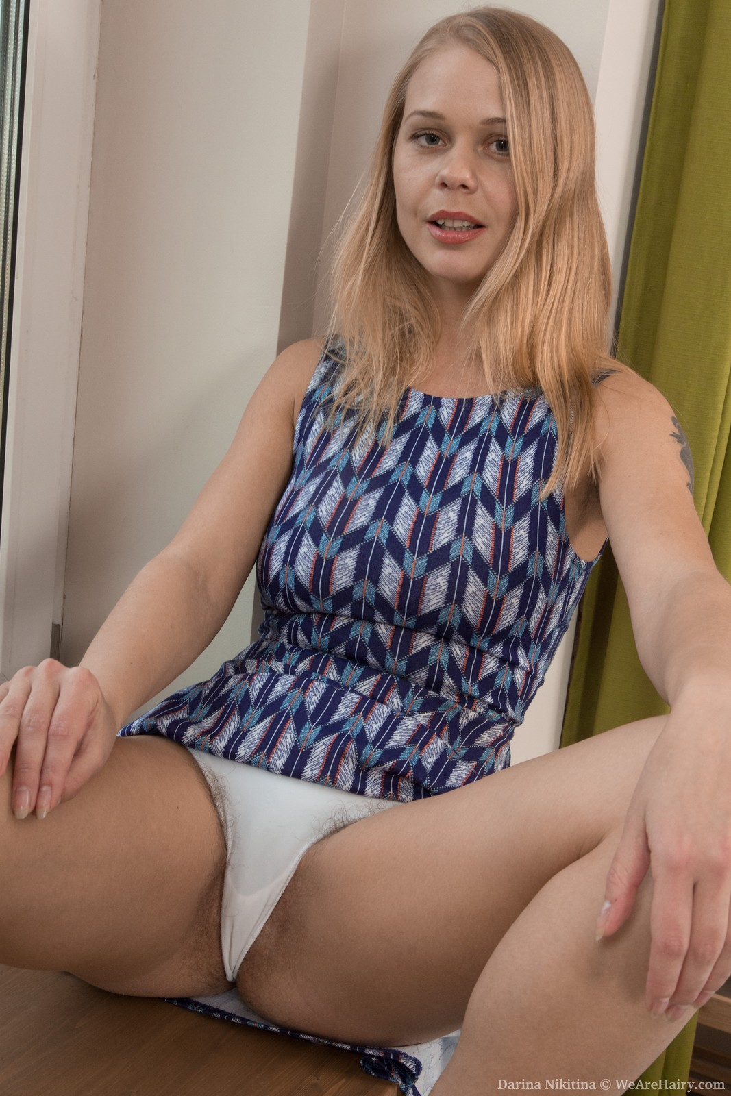 thehairylady blog blonde-ru-girl-darina-nikitina