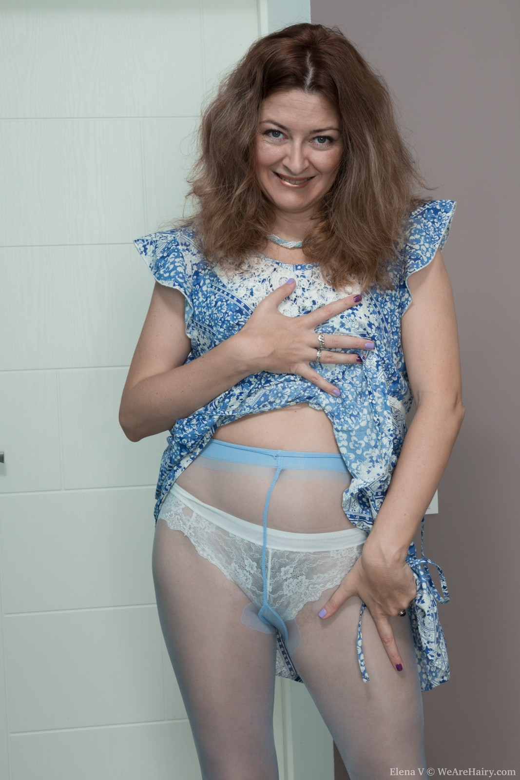 thehairylady blog russian-hairy-mature-elena