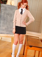 whackyourboner pics 123014 elle-in-the-classroom-in-school-uniform