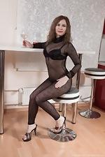 wearehairyfree models Adelis_Shaman Adelis_Shaman_strips_naked_enjoying_some_wine