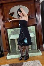 wearehairyfree models Riani Riani_is_all_black_and_blue