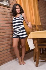 http://www.wearehairyfree.com/models/Sally/Latina_Sally_slides_off_dress_and_strips_naked.html
