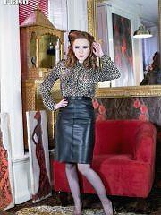 worldoffetish solo-nylon-models vintage-flash ella-hughes-skirt freeones