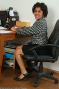 allover30women galleries 077-Allover30-Super-Hairy-Majal-Secretary
