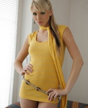 babe-lounge denisa-d-yellow-dress