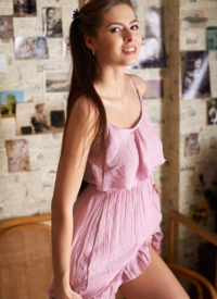 http://www.cherrynudes.com/arianna-pink-dress/