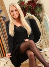 cherrynudes lucy-anne-brooks-stockings