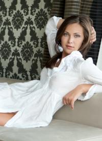 http://www.cherrynudes.com/sophia-e-white-dress/