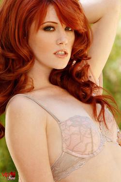 lemmecheck premium elle-alexandra-sexy-redhead-proudly-displays-firm-nipples-159792