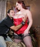 myboobsite blog cum-on-tits-with-38f-redhead-reyna