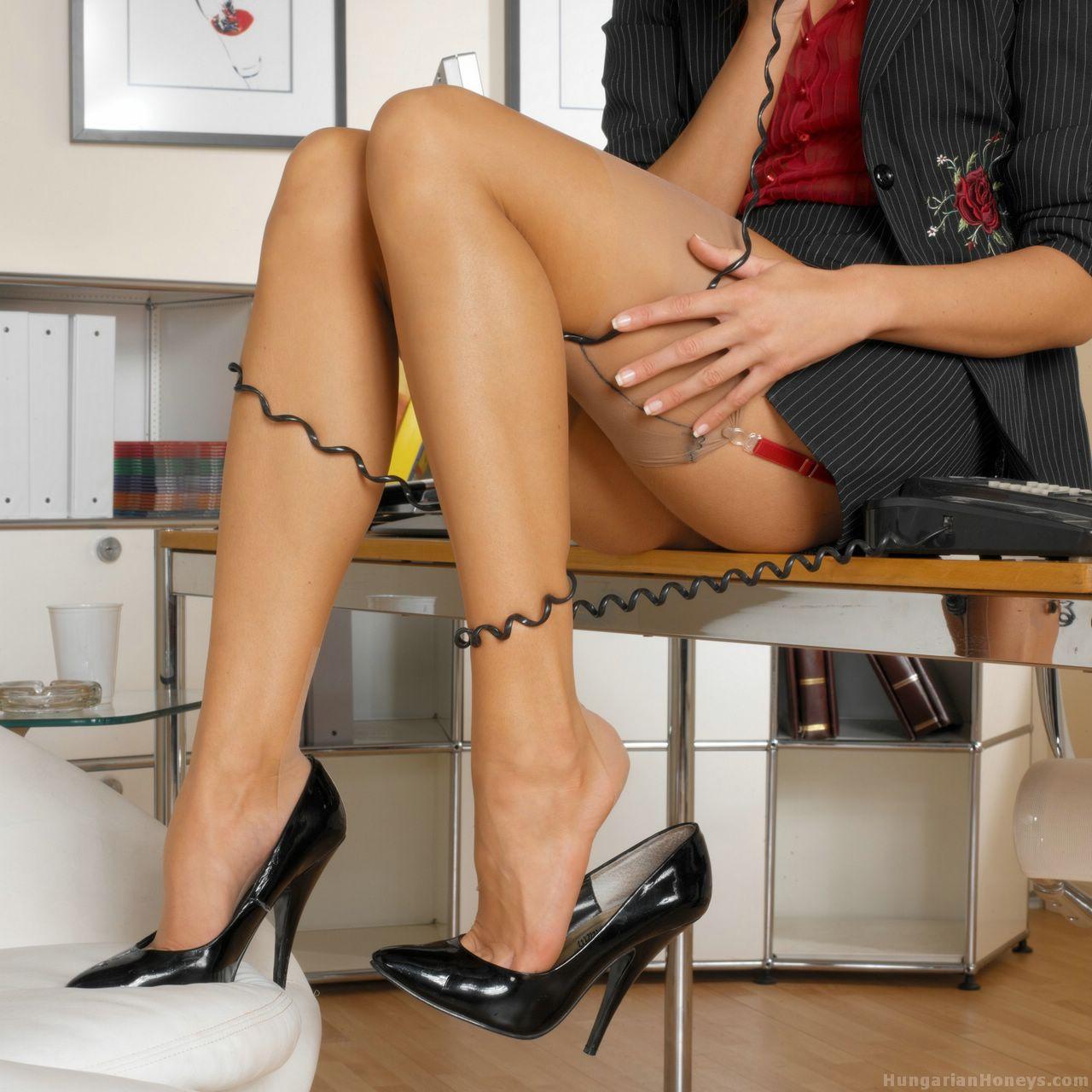 Ретро эротика в офисе