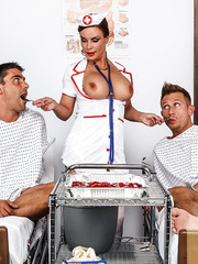 pervertedmilfs albums hardcore-double-penetration-for-mature-nurse-in-sexy-uniform-diamond-foxxx