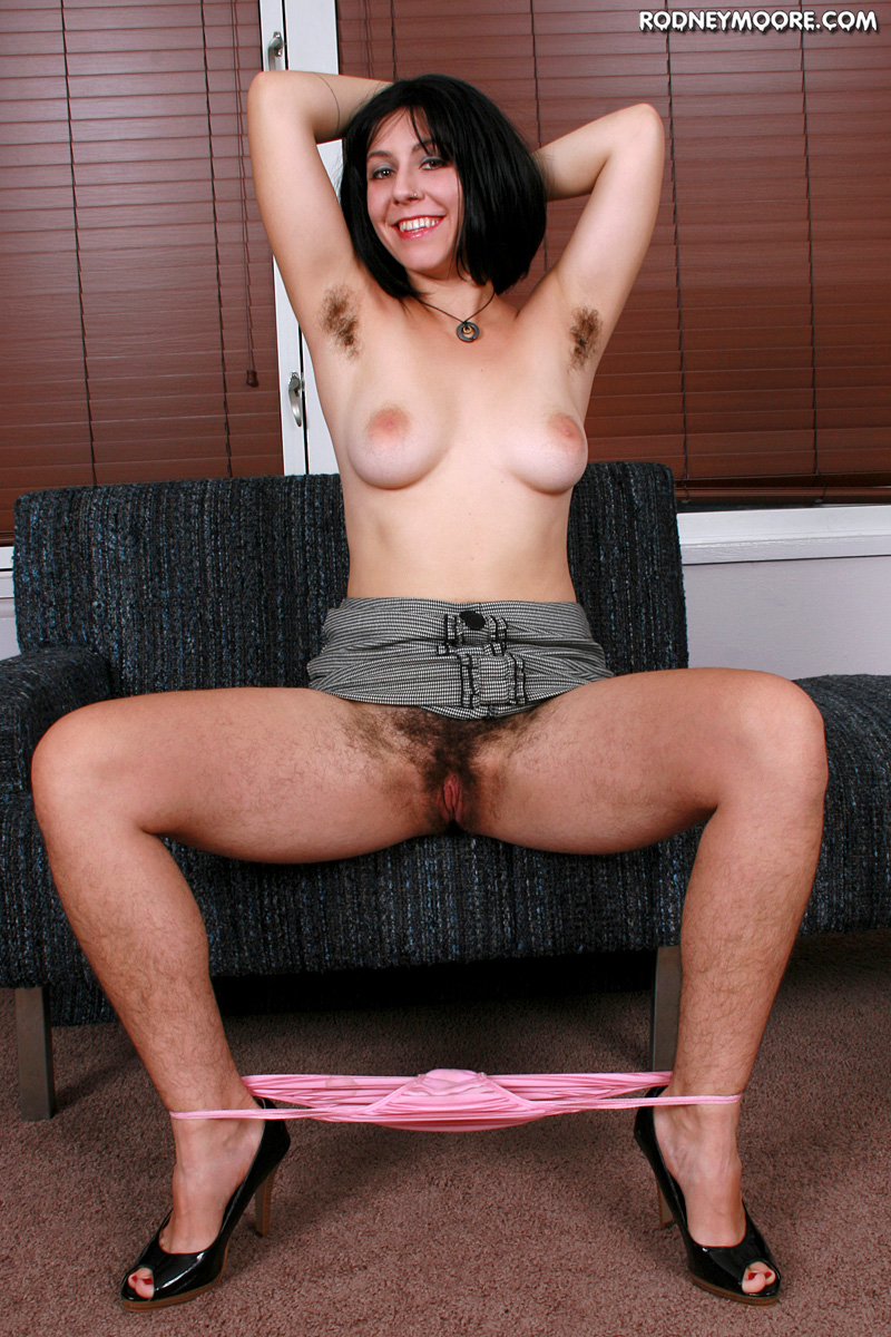Sylvia smith hairy pussy and armpits