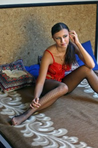 sexy-models net j jirina-k jirina-k-sheer-red-lingerie