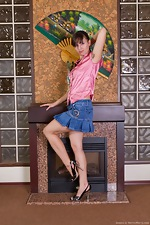 wearehairyfree models Jemma Jemma_like_to_play_around_the_fireplace