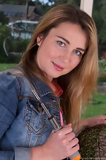http://wearehairyfree.com/models/Melisa/Melisa_strips_from_denim_outfit_to_play.html